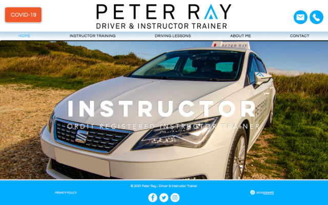 Peter Ray - Driver Instructor |  Trainer