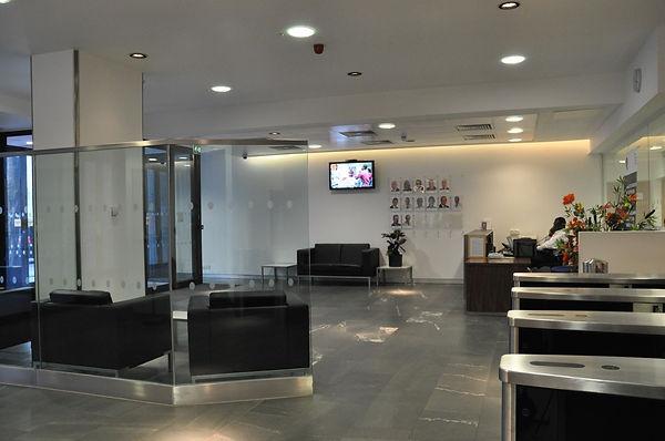 Celltarga Entrance & Reception - Caxton House