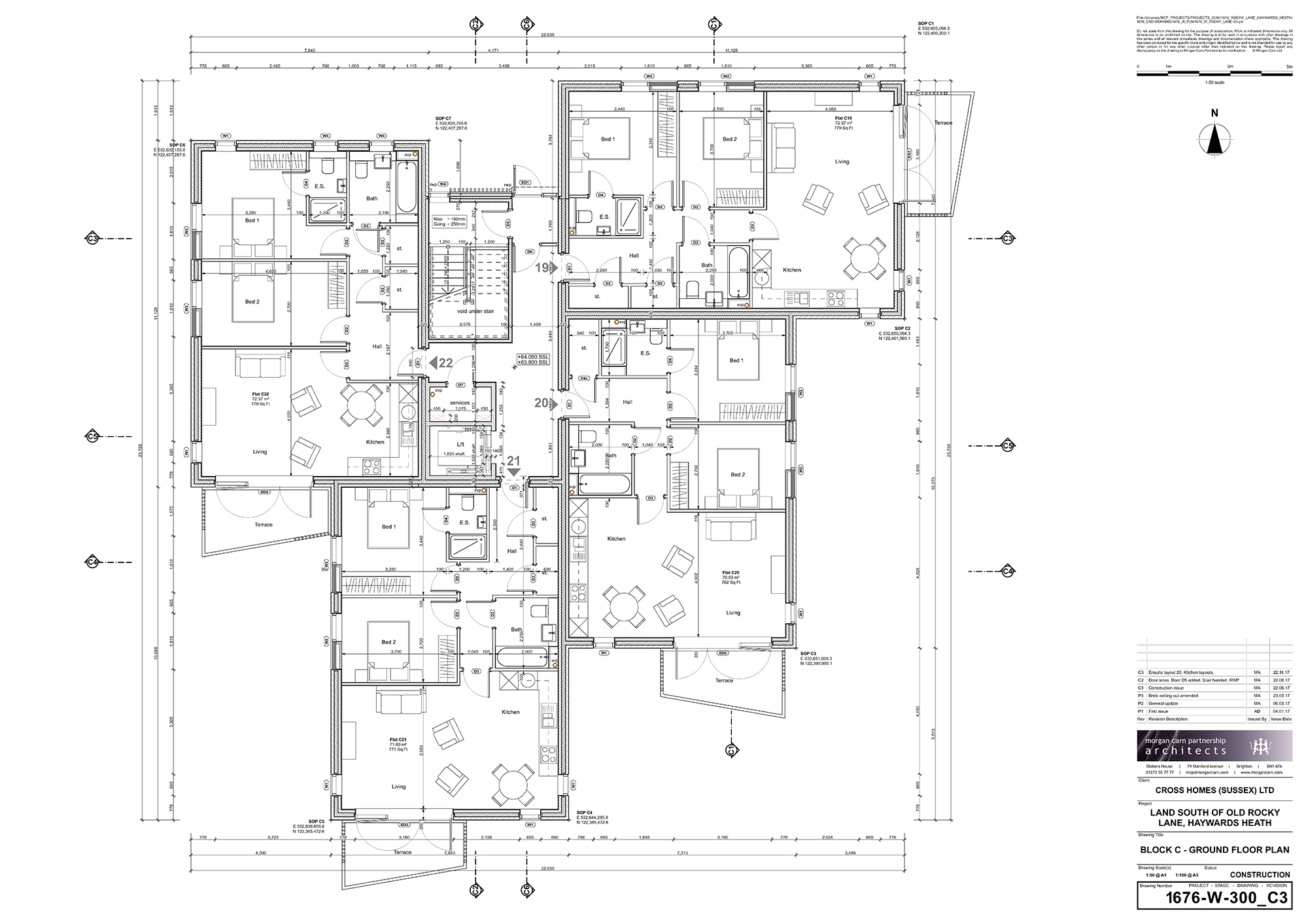 Block C - Ground Floor Plan
