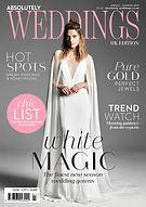 Lydie Dalton Floral Design in Absolutley Weddings Spring-Summer 2019 magazine