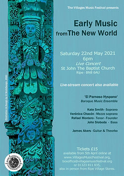 Early Music from the New World - Programme