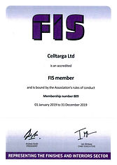 Celltarga FIS accredited member