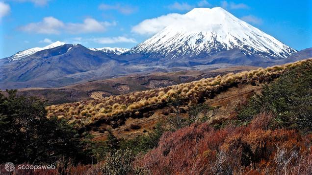 Mt Ngauruhoe (aka Mount Doom) Manawatu-Wanganui, New Zealand