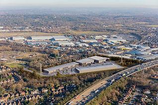 Byfleet Regalpoint aerial view