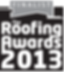 2013 Roofing Awards Finalist