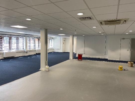 Celltarga planned maintenance project at Peckham Police Station