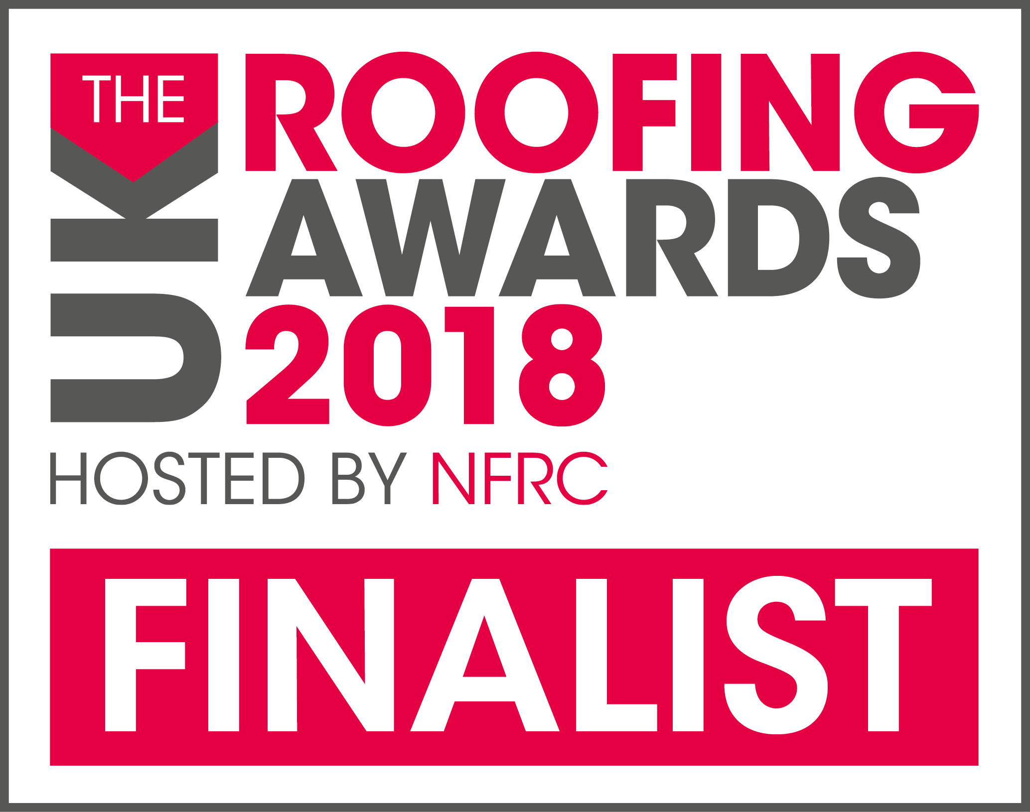 National Roofing Awards 2018