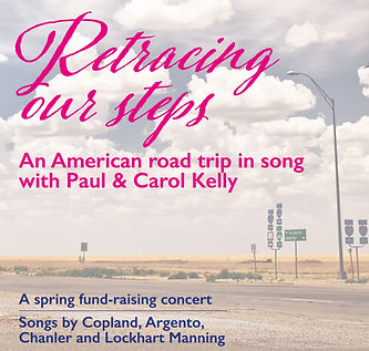 Retracing Our Steps - A Fundraising Concert for Lewes Festival of Song