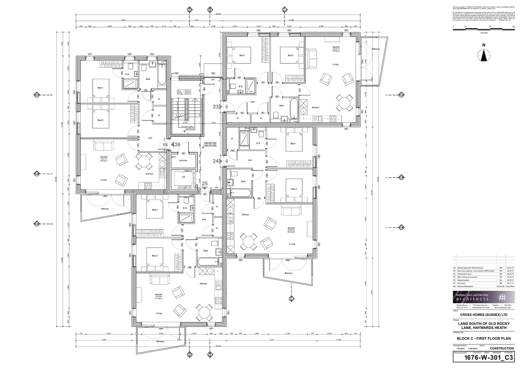 Block B - First Floor Plan