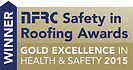 Richard Soam Roofing Services were awarded  The National Federation of Roofing Contractors Gold Award for Health & Safety 2015