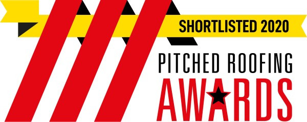 We've been shortlisted for the 2020 Pitched Roofing Awards