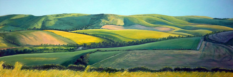 Painting by Simon Dale