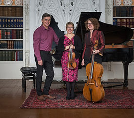 Kelleth Piano Trio plays lunchtime concert at St Anne's, Lewes, May 31st 2018