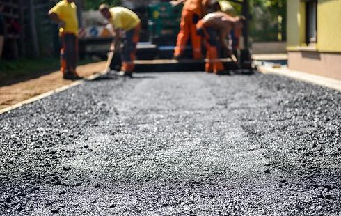 Roman Groundworks - asphalt and tarmac repairs
