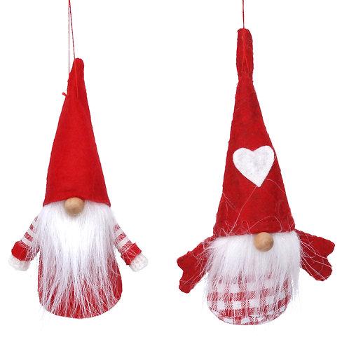 Fabric Nordic Santa