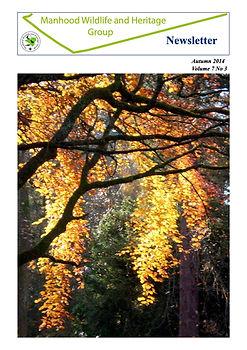 MWHG Newsletter Autumn 2014