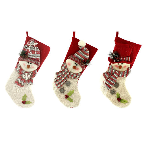 Snowmen Stockings with hats