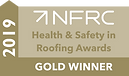 The National Federation of Roofing Contractors Gold Award for Health & Safety 2019