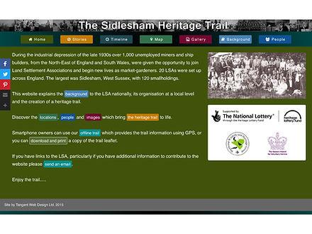Sidlesham Heritage Trail website
