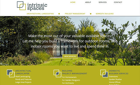 Intrinsic Spaces New website architectural landscaper, domestic bui...