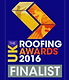 Finalist 2016 UK Roofing Awards