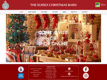 Sussex Christmas Barn