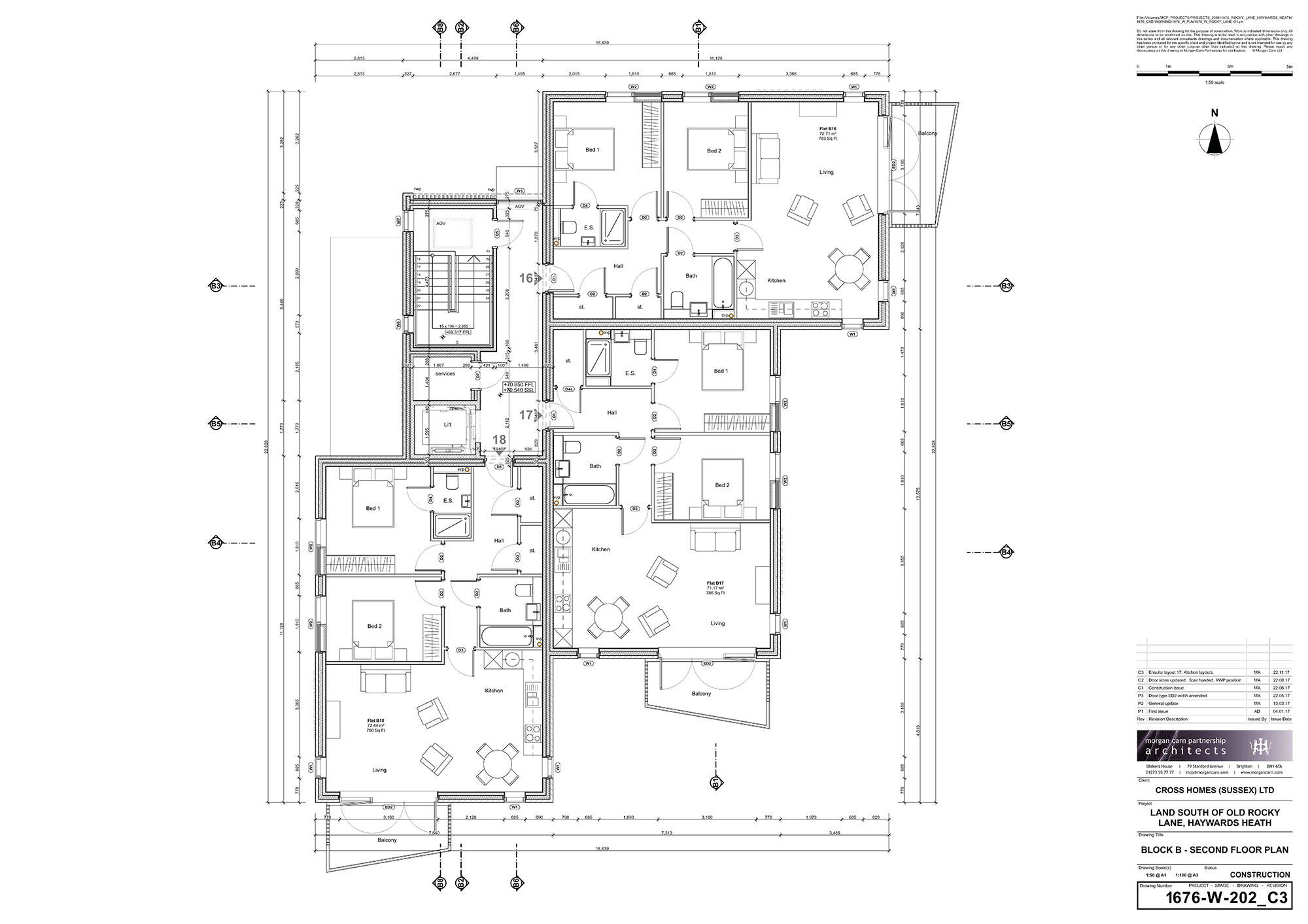 Block B - Second Floor Plan