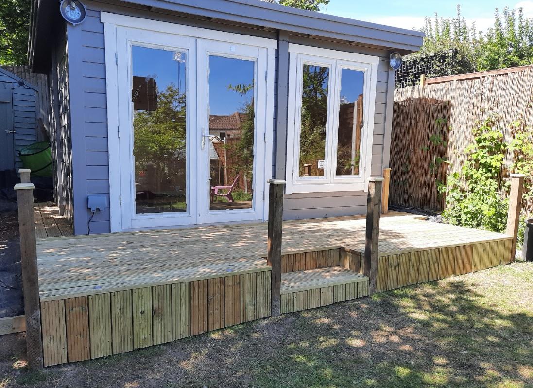Summerhouse Deck