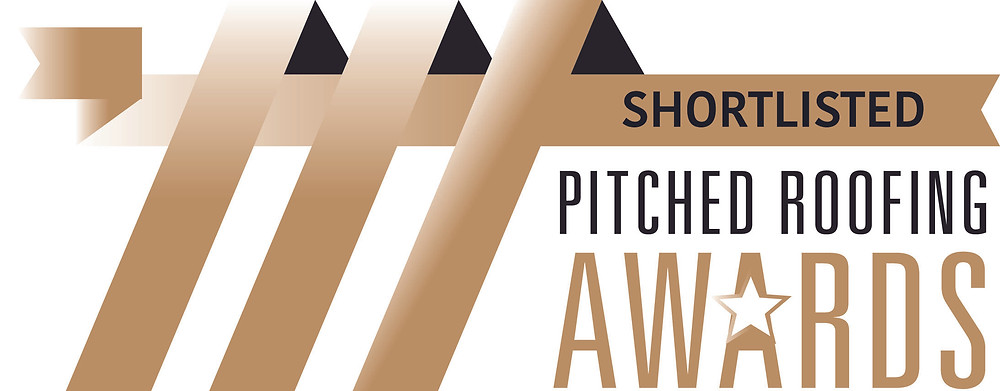 We've been shortlisted for the 2021 Pitched Roofing Awards.