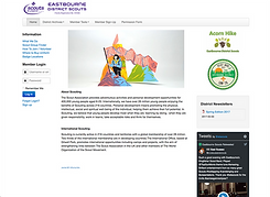 Eastbourne Scouts website