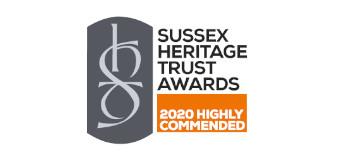 We were highly commended in the 2020 Sussex Heritage Trust Building Crafts category