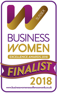 Samantha is a finalist in the BusinessWomen Excellence Awards - Sussex