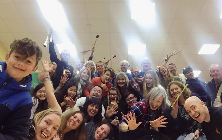Get involved with Brighton School of Samba