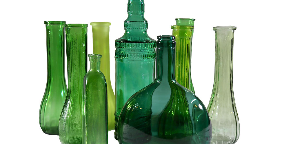 Emerald Glass Vessels