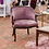 Thumbnail: Lavender Vintage Velvet Chairs (2)