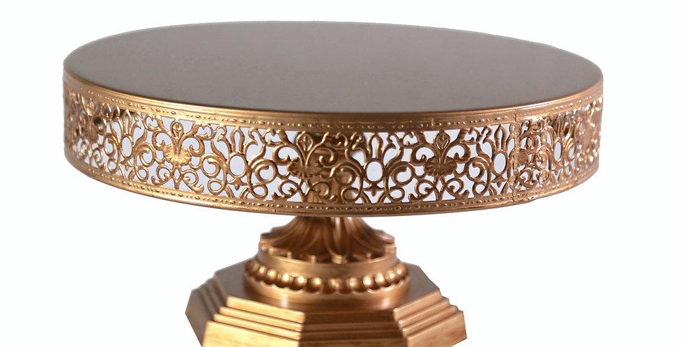 Abby Gold Pedestal