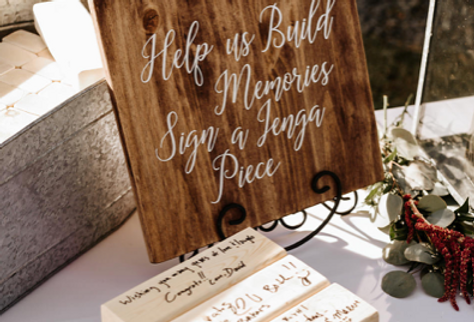 Small Wooden Customizable Signs