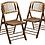 Thumbnail: Kim Bamboo Folding Chairs