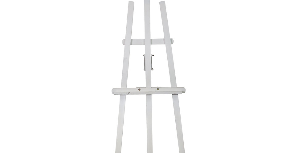 Large White Wood Easel