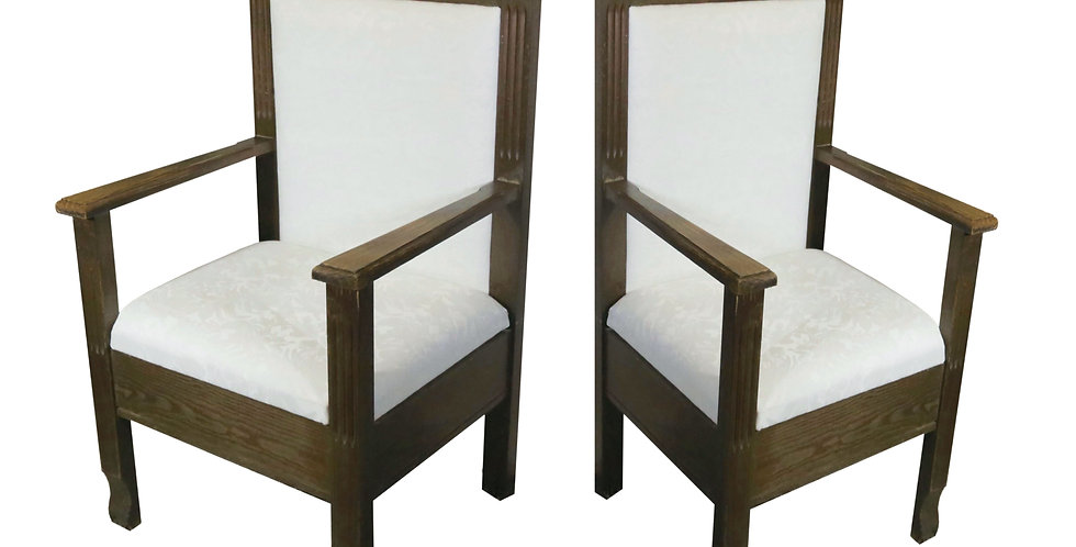 Mr. & Mrs. Throne Chairs