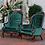 Thumbnail: Sofia Emerald Velvet Chairs