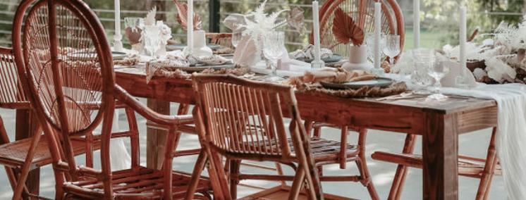 Kim Bamboo Folding Chairs