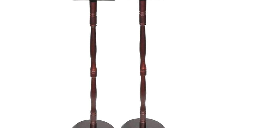 Wood Vase Pedestals