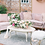 Thumbnail: Jaclyn Blush Velvet Loveseat