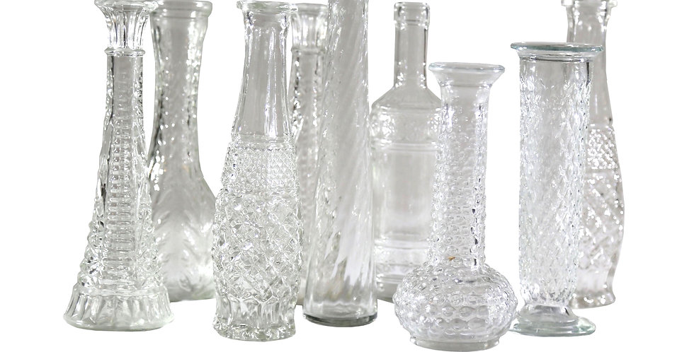 Assorted Glass Vessels