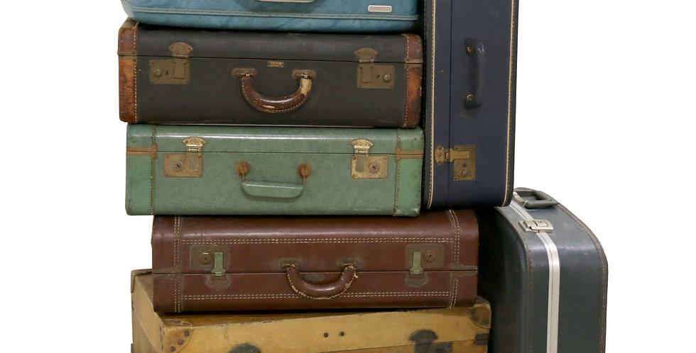 Large Vintage Suitcases