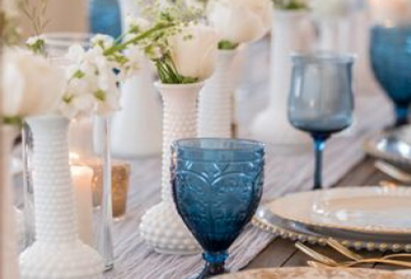 Midnight Blue Assorted Goblets