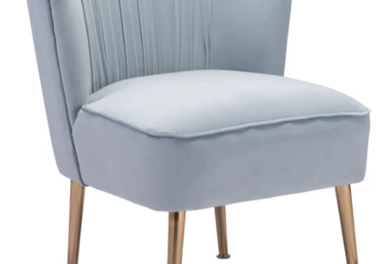Heather Dusty Blue Chairs