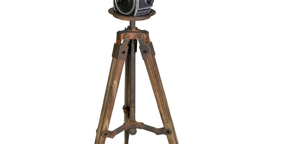 Antique Bolex Film Camera & Tripod