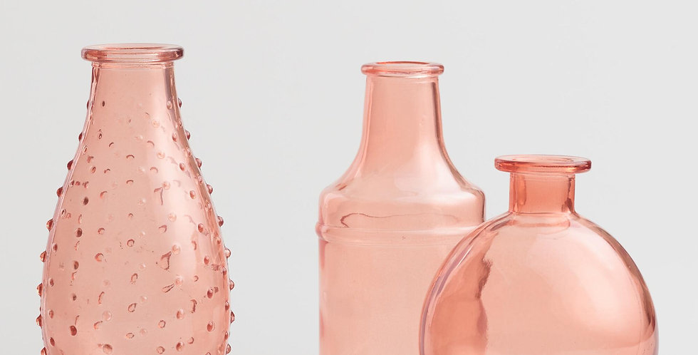 Pastel Colored Bottles